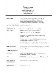 Outstanding Resume Examples Examples Of Resumes 81 Astounding Good Resume Format Best