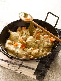 cuisine de norbert poulet au vin blanc de norbert tarayre recette de poulet au vin