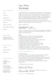 Resume Format For Web Designer Web Developer Resume Template Doc Registered Bypass The Story Of A