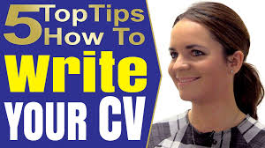 tips to write a good resume how to write a good resume that works and cv writing tips youtube