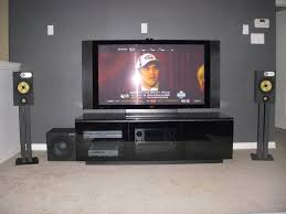 home theater speaker placement b u0026w 2 1 setup avs forum home theater discussions and reviews