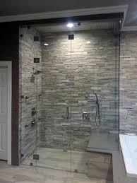 steam shower lighting advice love the stone inside the shower steam shower enclosures master