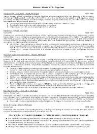 Finance Resume Template Download Cpa Resume Haadyaooverbayresort Com