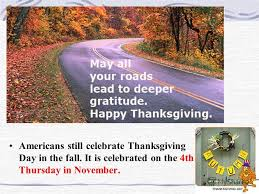презентация на тему thanksgiving day in america there is one