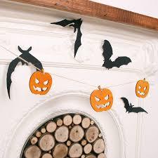 halloween pumpkin bunting scary halloween pumpkins scary
