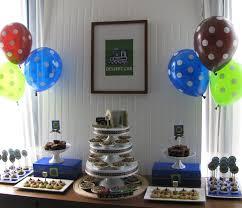 sheek shindigs a train themed baby shower dessert table