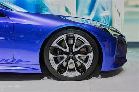 lexus lc500h weight 2016 lexus lc500h shows up in stunning blue exterior in geneva is