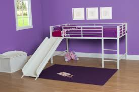 Free Loft Bed Plans With Slide by Dhp Furniture Junior Loft With Slide
