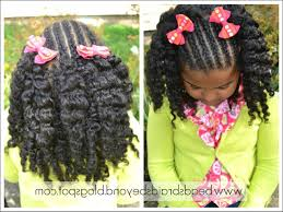 black girls hairstyles with braids