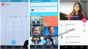 kitkat contacts apk android l 5 0 lollipop dialer contact apk ui droidgreen