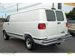 Dodge Ram Cargo Van - bright white 2003 dodge ram van 1500 cargo exterior photo