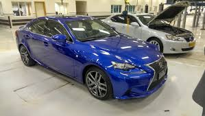 lexus is300 blue saw ultrasonic blue mica is f sport at dealership in calgary ab