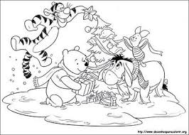 272 pooh friends images coloring books