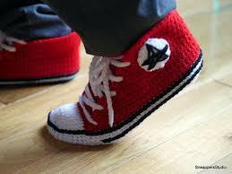 pattern crochet converse slippers crochet sneaker slippers pattern crochet and knit
