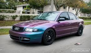 audi color changing car plasma colorshift