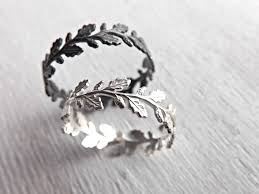 silver pretty rings images Buy a hand made oak leaf ring silver silver eternity ring made jpg