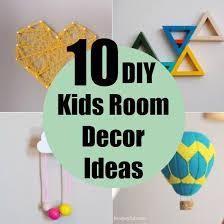 10 DIY Kids Room Decor Ideas