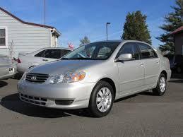 toyota corolla sedan 2003 2003 toyota corolla le 4dr sedan in gilbertsville pa geg automotive