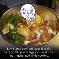 use a garbage bowl u2013 do you bake