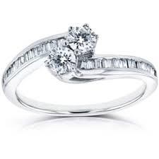 engagement rings with baguettes baguette engagement rings shop the best deals for dec 2017