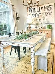 dining table farm style dining room chairs farmhouse table with