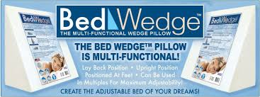 wedge bed pillows bed wedge the multi functional wedge pillow