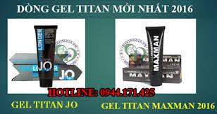 gel titan maxman sử dụng được bao nhiêu lần