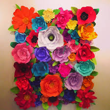 cute flower backdrop for a fiesta photo shoot or event mexican