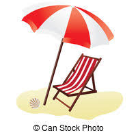 Beach Umbrella And Chairs Beach Illustrations And Clipart 144 931 Beach Royalty Free