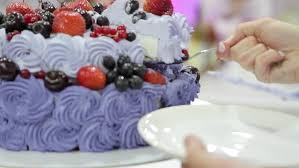 Wedding Cake Birthday Cake Cake With Strawberry And Cream Slices