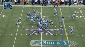 what the heck happened at the end of the cowboys lions
