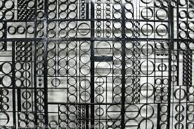 mariatorget wrought iron gates black on tour