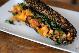 amarante cuisine baguette au sésame noir girolles et amarante cuisine santé