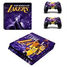 game design los angeles los angeles lakers ps4 slim skin by video games design decal on zibbet