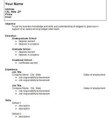 College Graduate Resume Sample Writing A Resume For College Resume Writing And