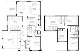 modern house elevation 2831 sq ft home appliance floorplan showy
