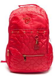 Popular Mochila Costas DMW Capricho Love VIII Vermelha - Compre Agora  #CN57