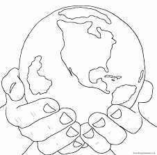 god created the world coloring page aecost net aecost net