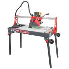 Rigid 7 Tile Saw Stand by Rubi Dc 250 850 120 Volt 60 Hz Tile Saw With Blade And Cable 54924