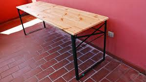tavola pieghevole costruire un tavolo pieghevole con i pallet fai da te
