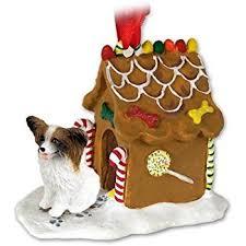 papillon sleigh ornament home kitchen