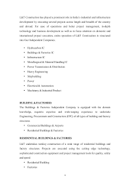 sle resume for civil engineering internship reports summer internship report l t