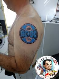 acdc tattoo grêmio f c e acdc tatuagem com tatuagens tattoo