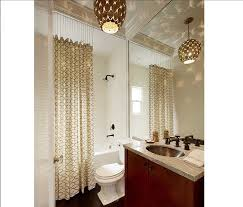 Flower Drop Shower Curtain 30 Quick And Easy Bathroom Decorating Ideas Freshome Com