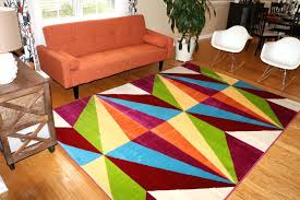 Inexpensive Area Rug Ideas Blue And Green Pattern Wool Area Rug Rugs Extraordinary Brown Room