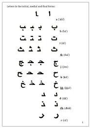 arabic handwriting question page 1