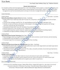 Sample Resume Of Graphic Designer by Graphic Artist And Editor Resume Sample Real Resume Help