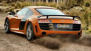 Audi R8 Orange - lord of the rings audi u0027s r8 gt flat out in the uk top gear