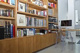 bibliotheque de bureau xavie z bibliothèque et bureau chêne poncé miel