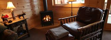 interior views of the adirondack lodges on lake george at the
